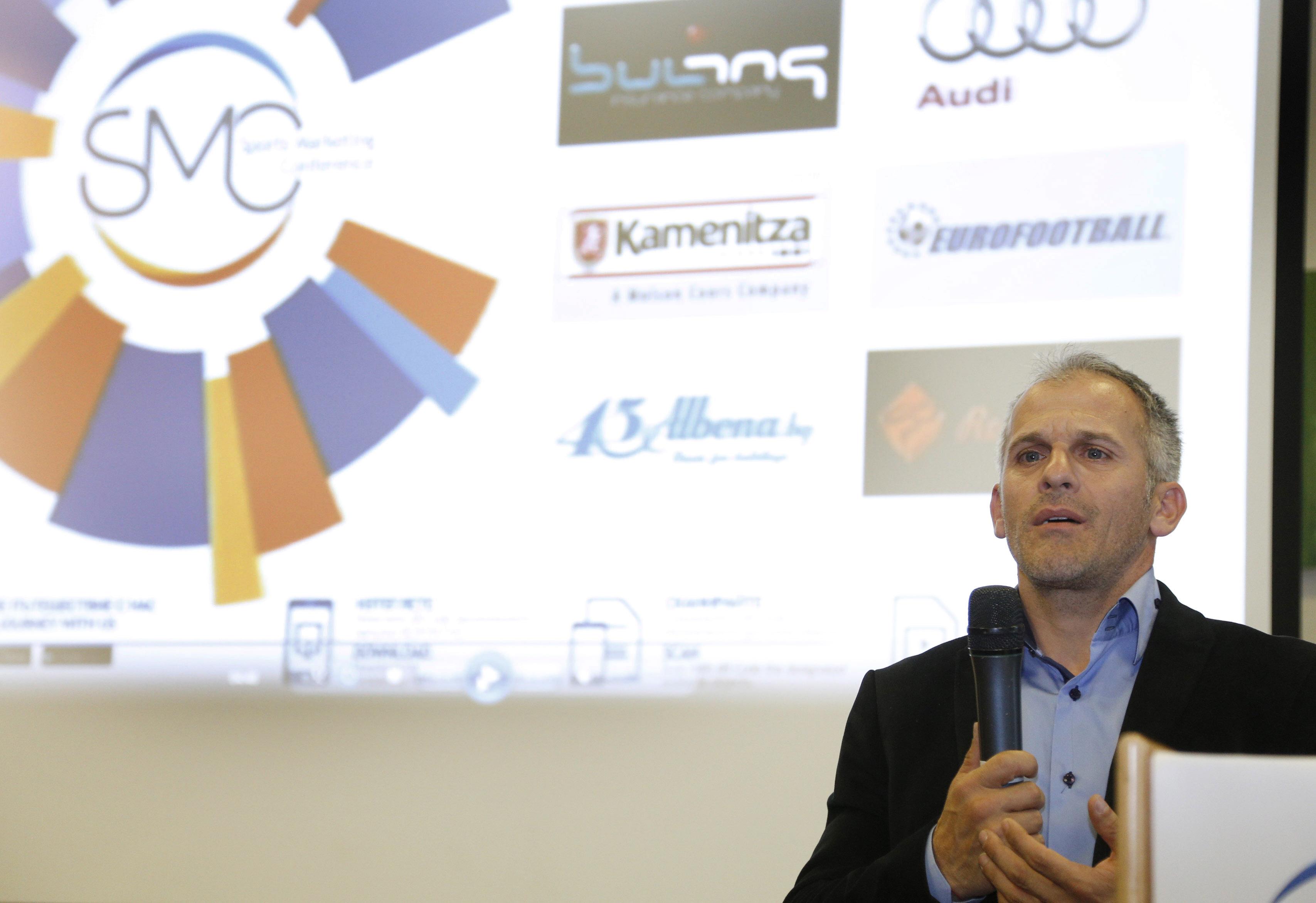 Гроздева, Йовчев и Любо Ганев бяха участници в конференция по въпросите на маркетинга чрез спорта