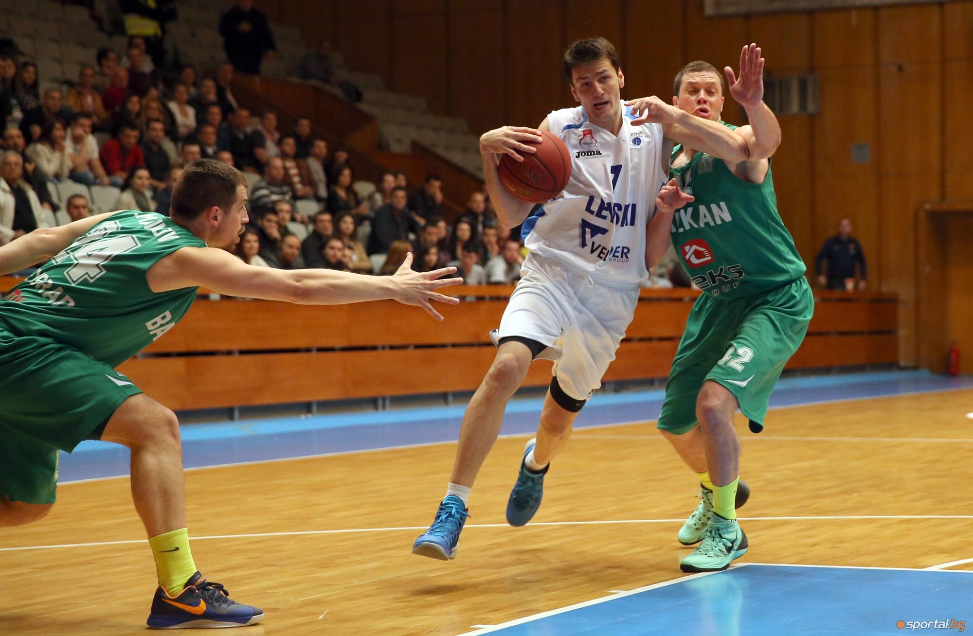 Левски изравни серията срещу Балкан след драма