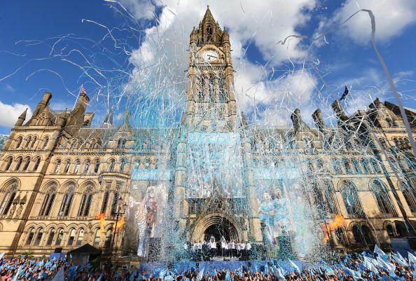 Шампионският парад на Манчестър Сити
