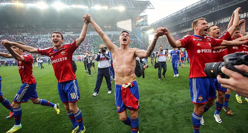 Георги Миланов и ЦСКА (Москва) ликуват с титлата!