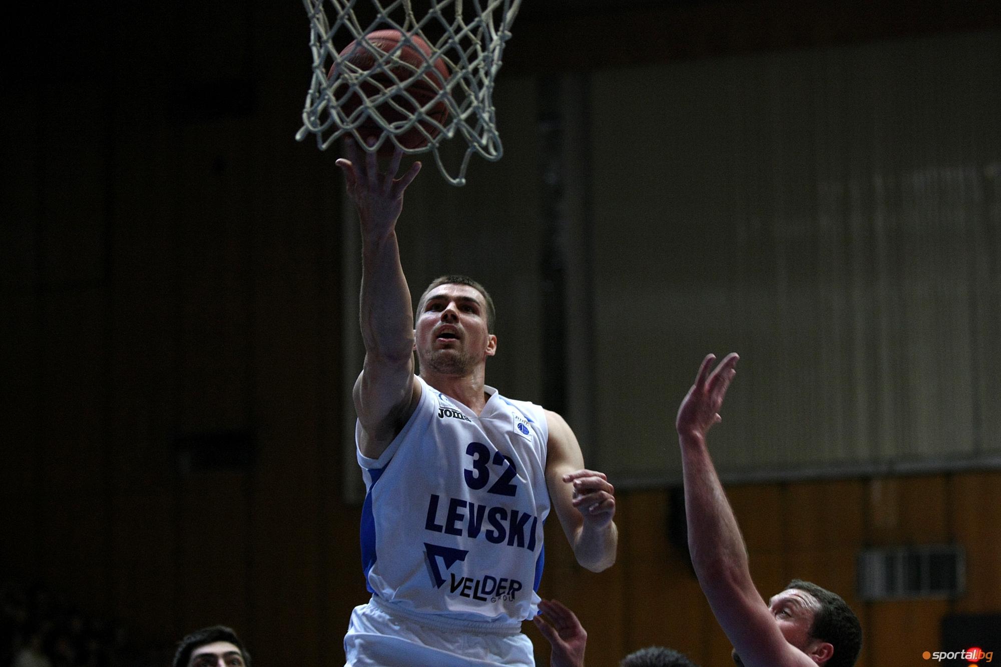 Левски спечели мач №3 от полуфиналната серия срещу Балкан (Ботевград) с 81:71
