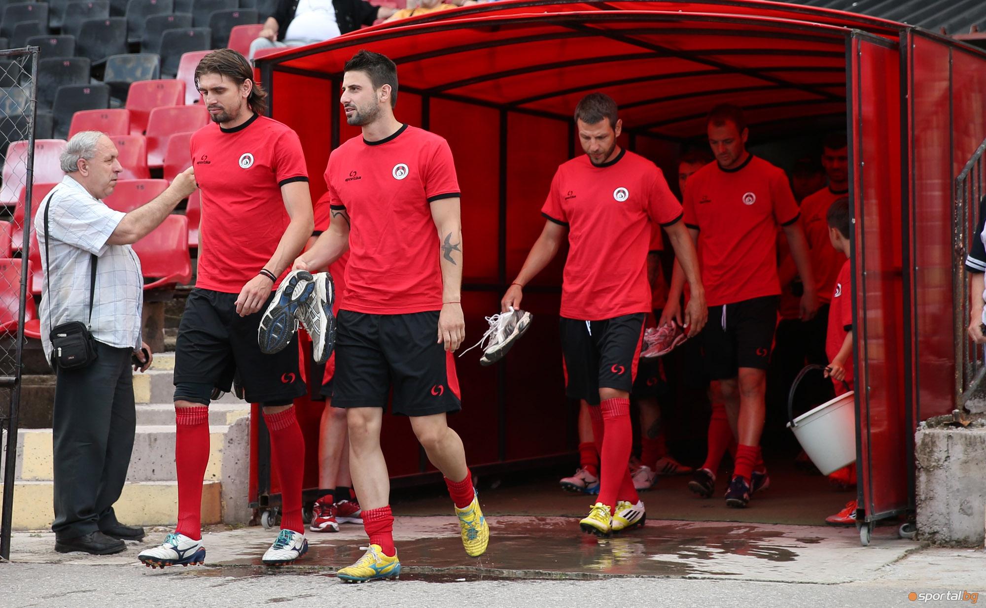 Локо Сф също започнаха подготовка за сезон 2014/2015