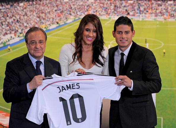 Хамес Родригес спечели сърцата на феновете на Реал