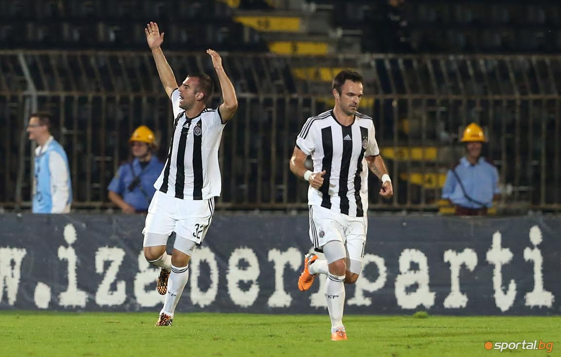 Лудогорец отново превзе Белград!