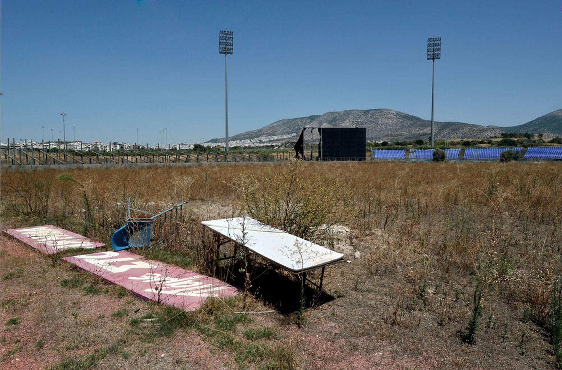 Разрухата в олимпийска Атина