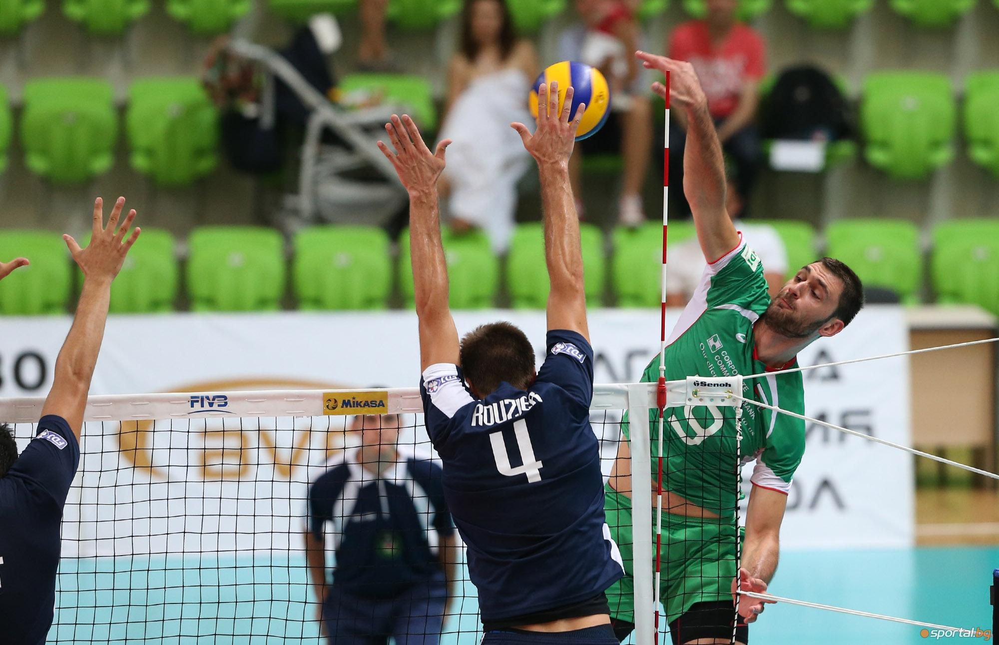 България загуби от Франция в Ботевград