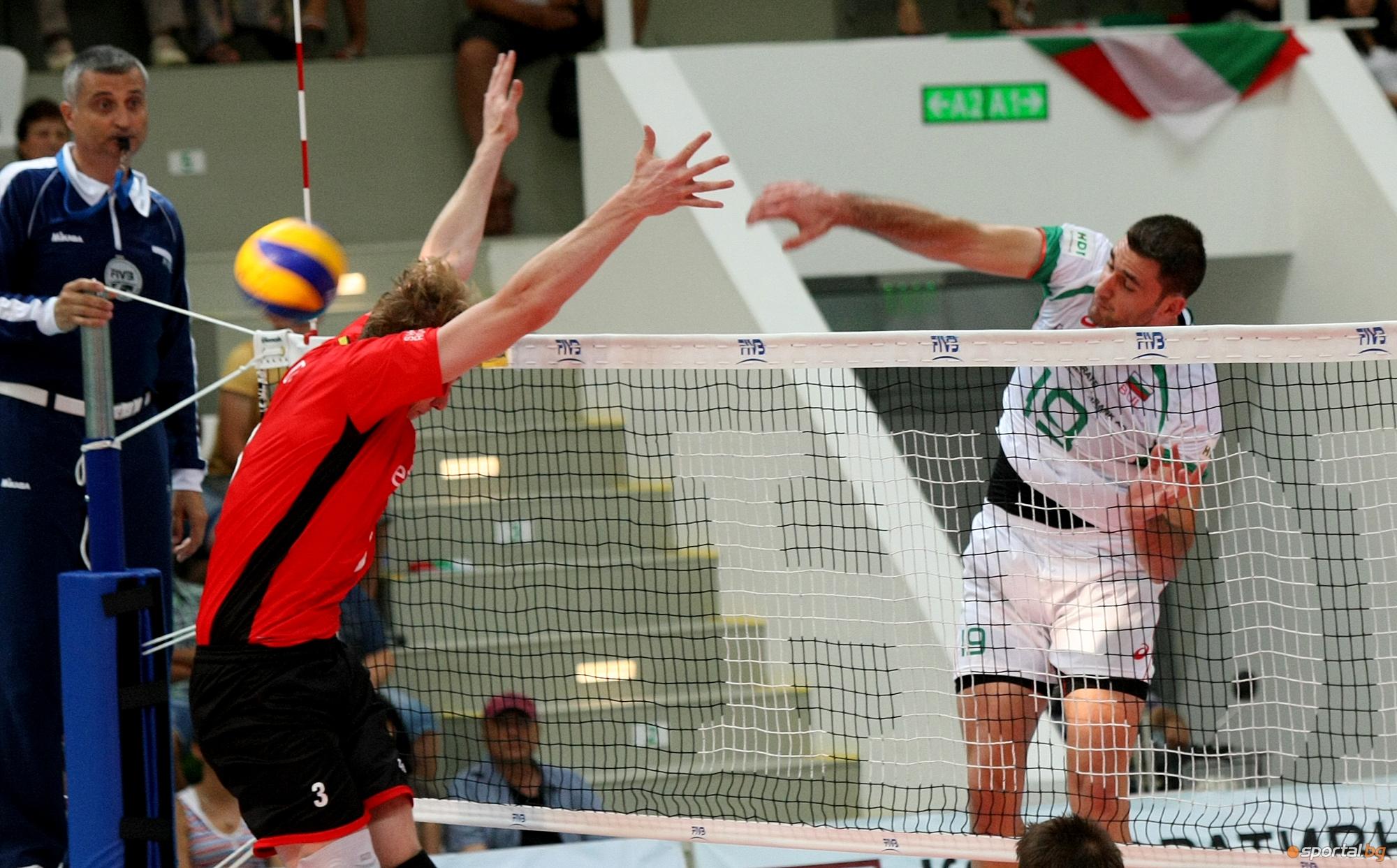 Пламен Константинов дебютира с победа над Белгия с 3:1