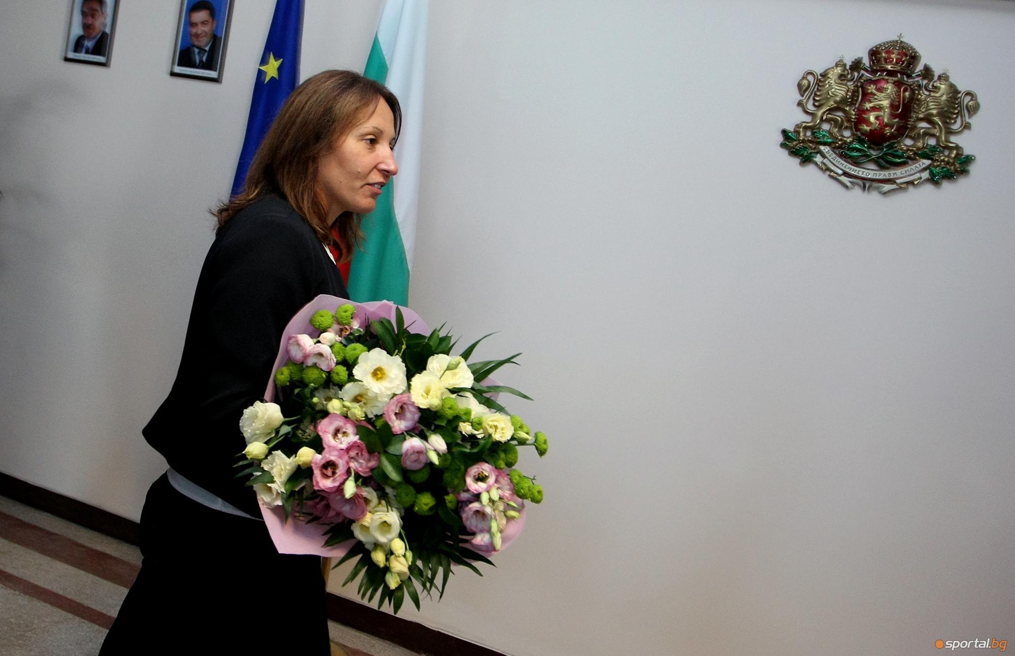 Евгения Раданова встъпи в длъжност