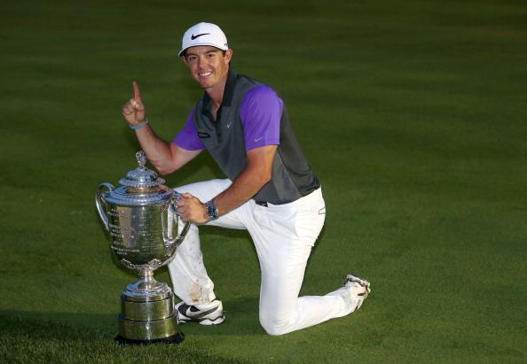 Рори Макрилрой над всички и на PGA Championship