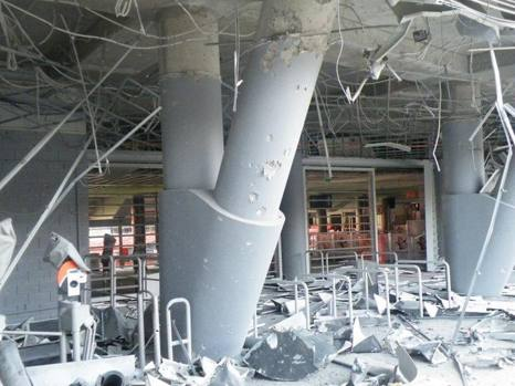 Две бомби се взривиха в стадиона красавец на Шахтьор (Донецк)