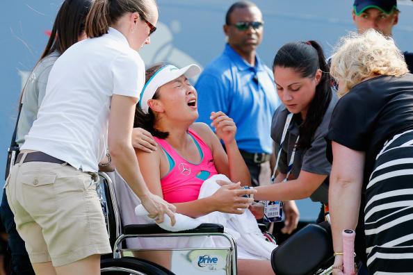 Вожняцки е първата финалистка на US Open