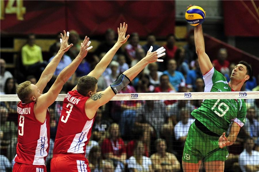 Мондиал 2014: България - Русия 2:3