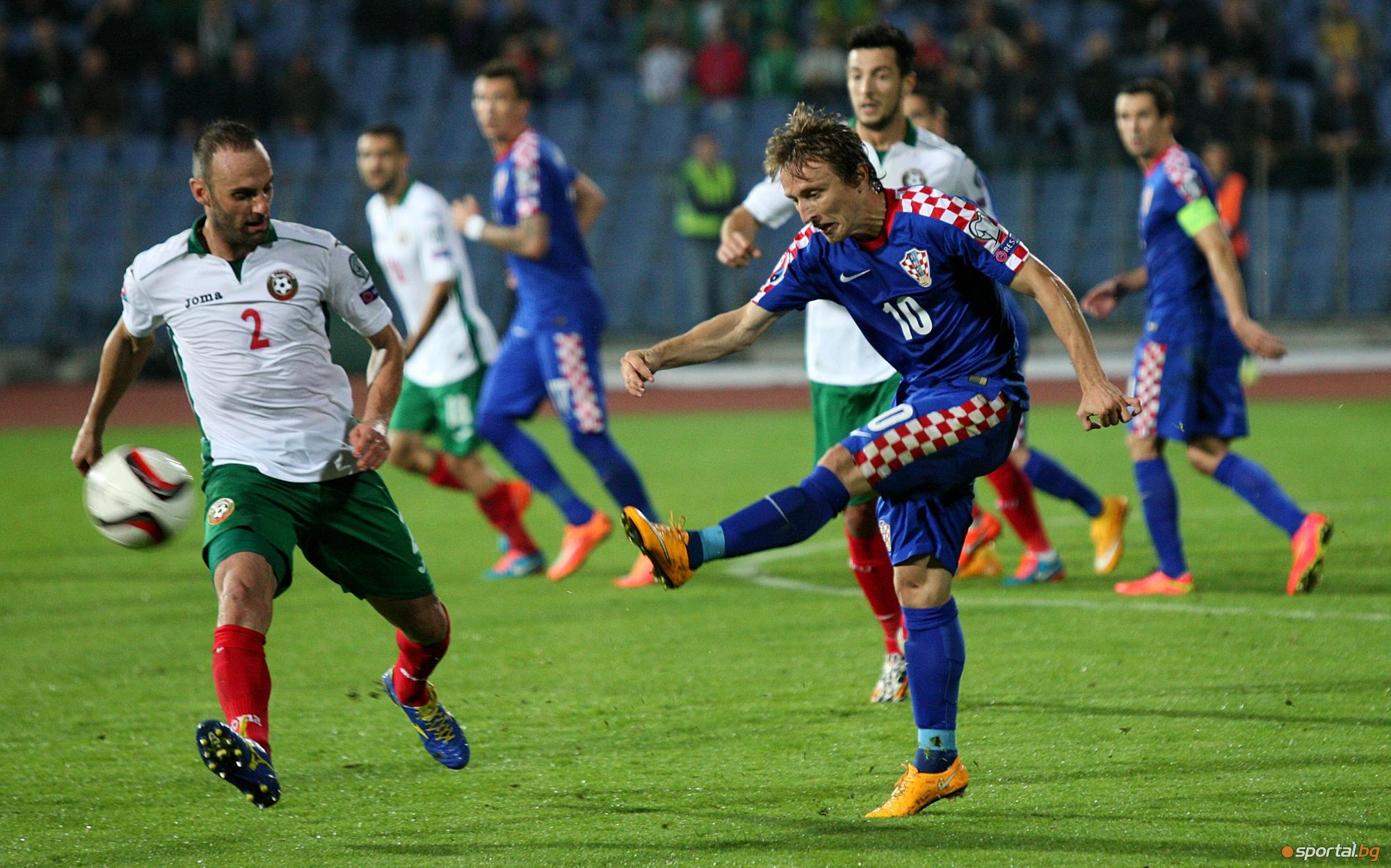 България загуби с 0:1 от Хърватия - част II
