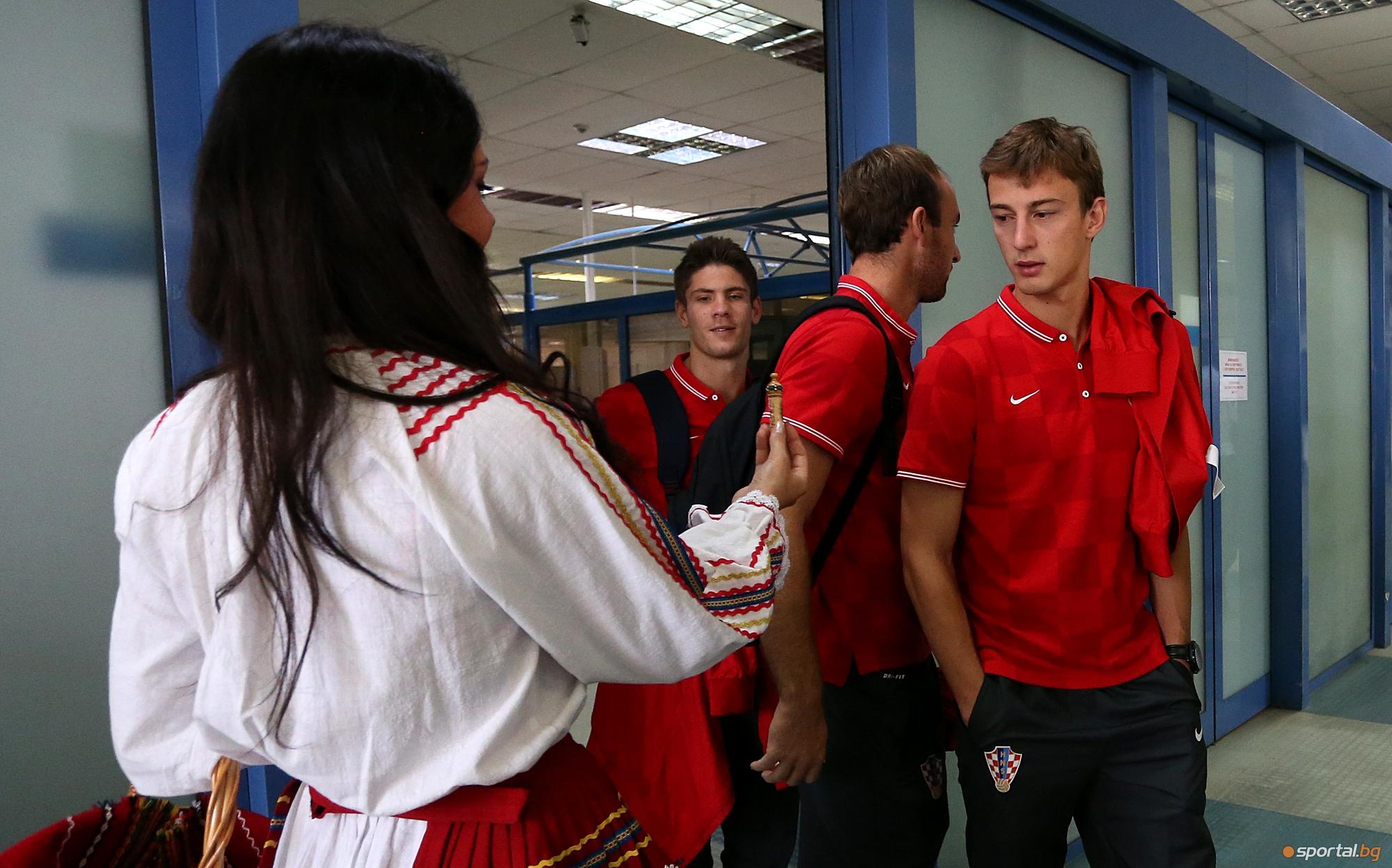 Хърватите прстигнаха на летище София
