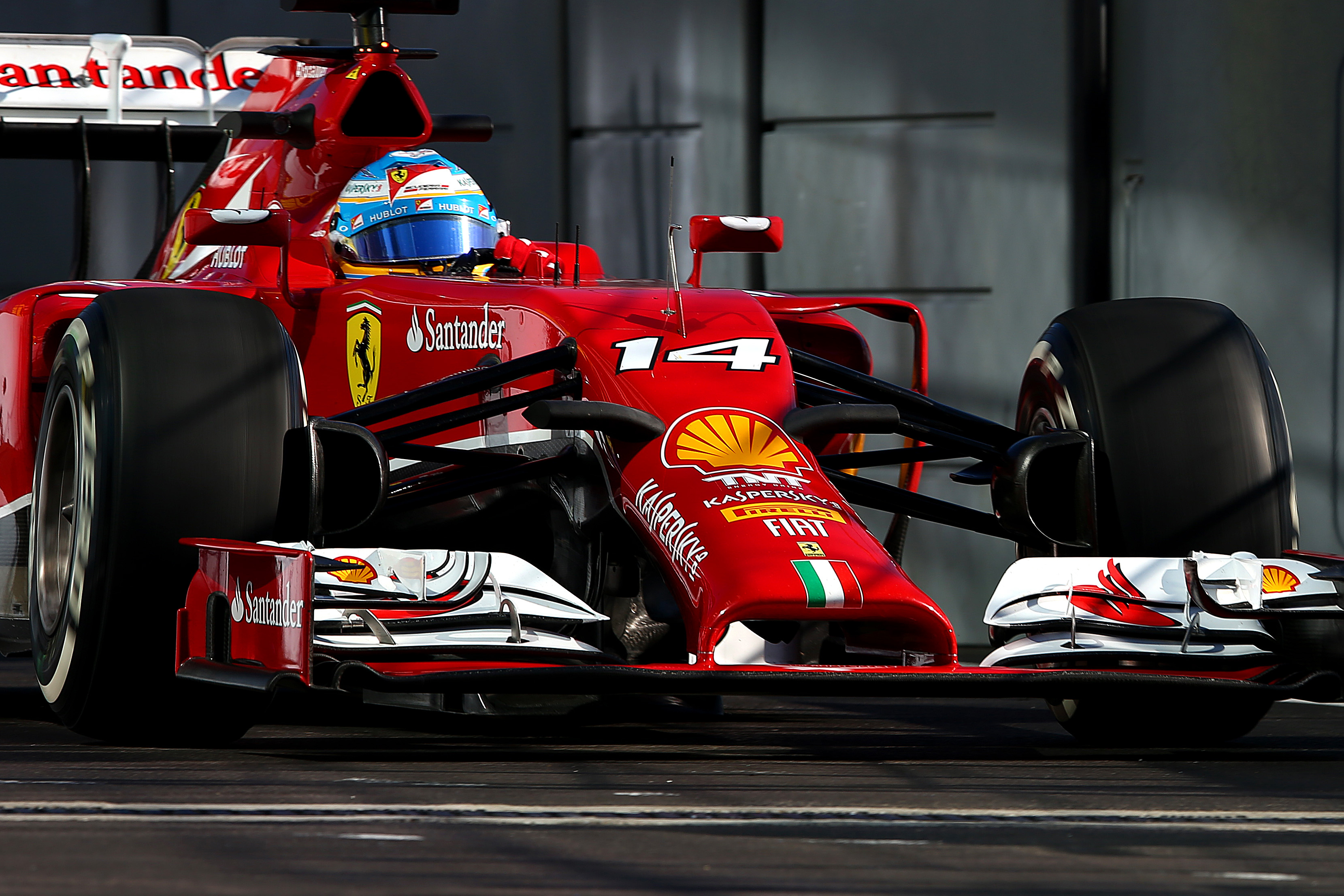 Тренировки за Гран при на Русия