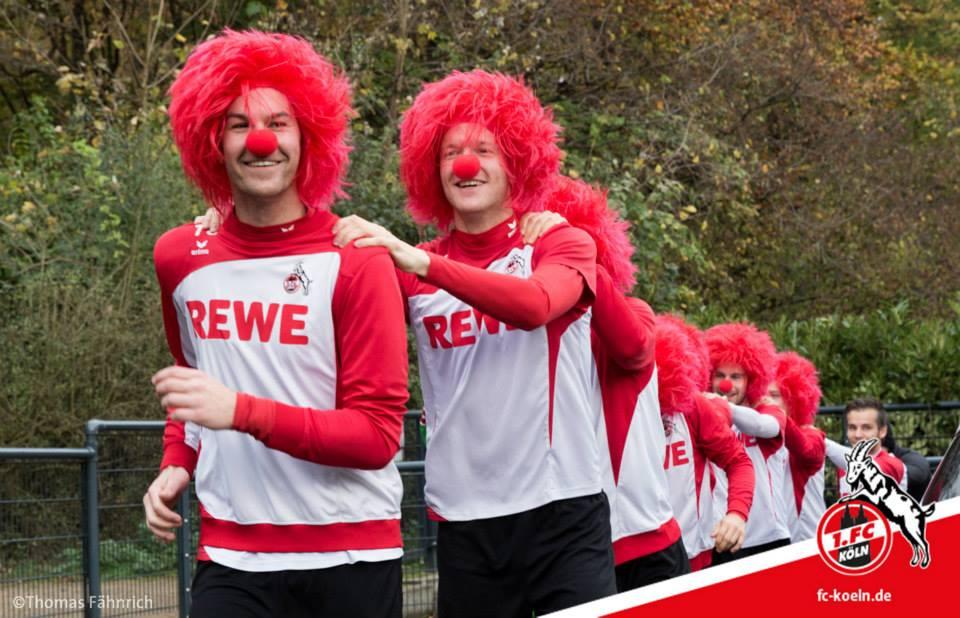 Време е за карнавал в отбора на Кьолн
