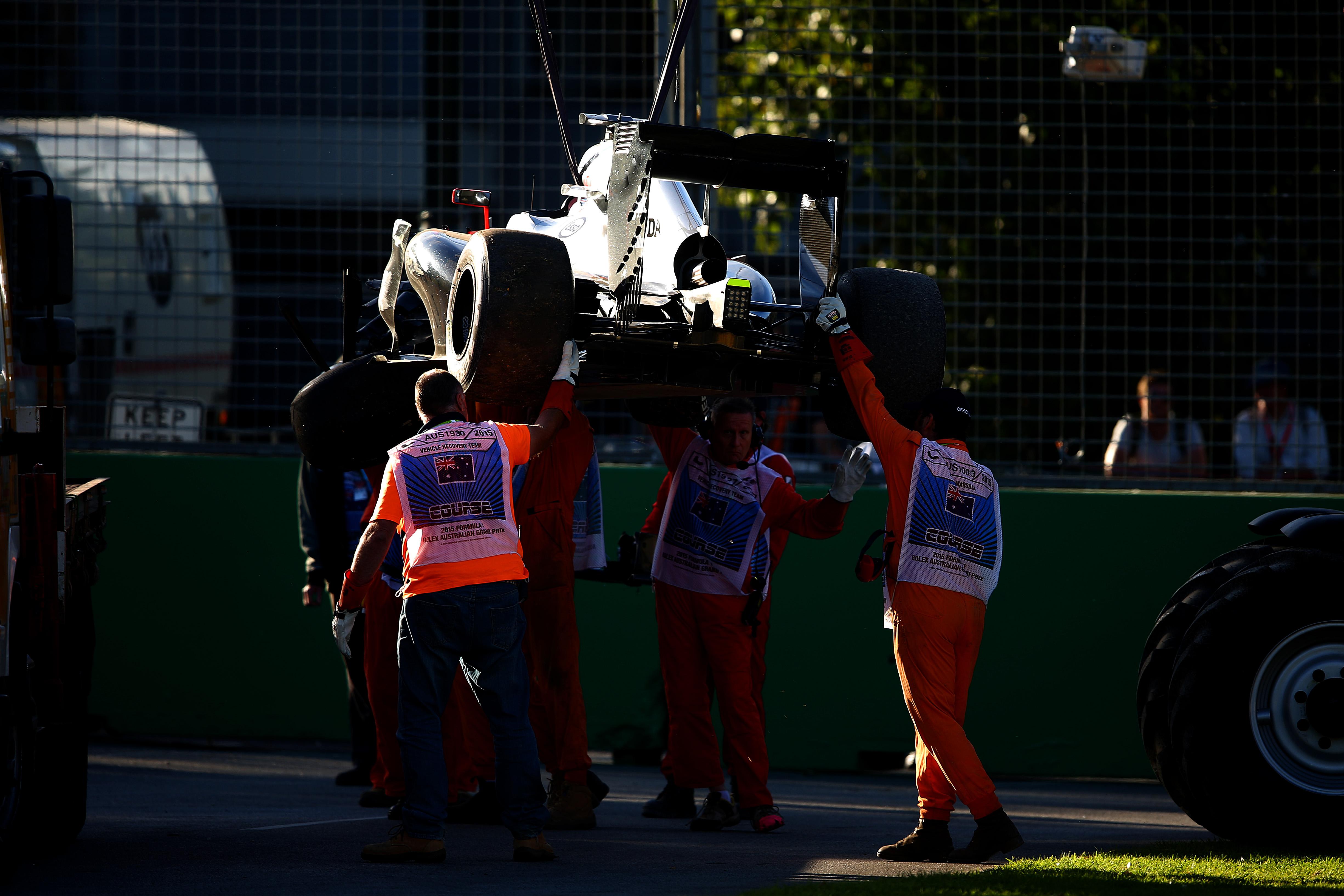 Тренировка за Гран при на Австралия