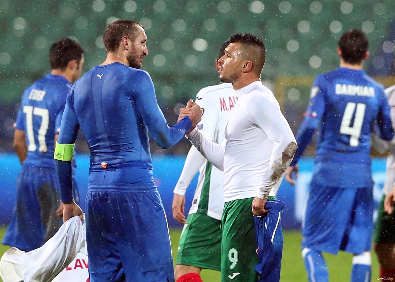 България - Италия - 2:2 част I