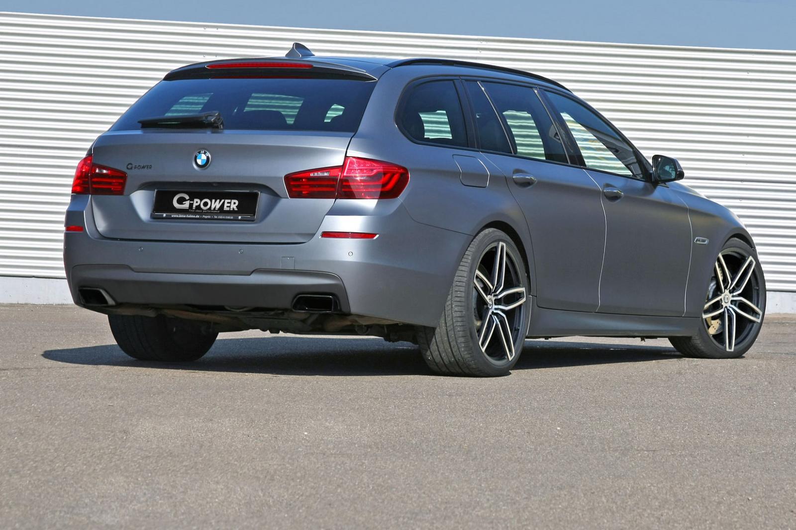 G-Power направиха най-бързото дизелово комби на BMW от M550d