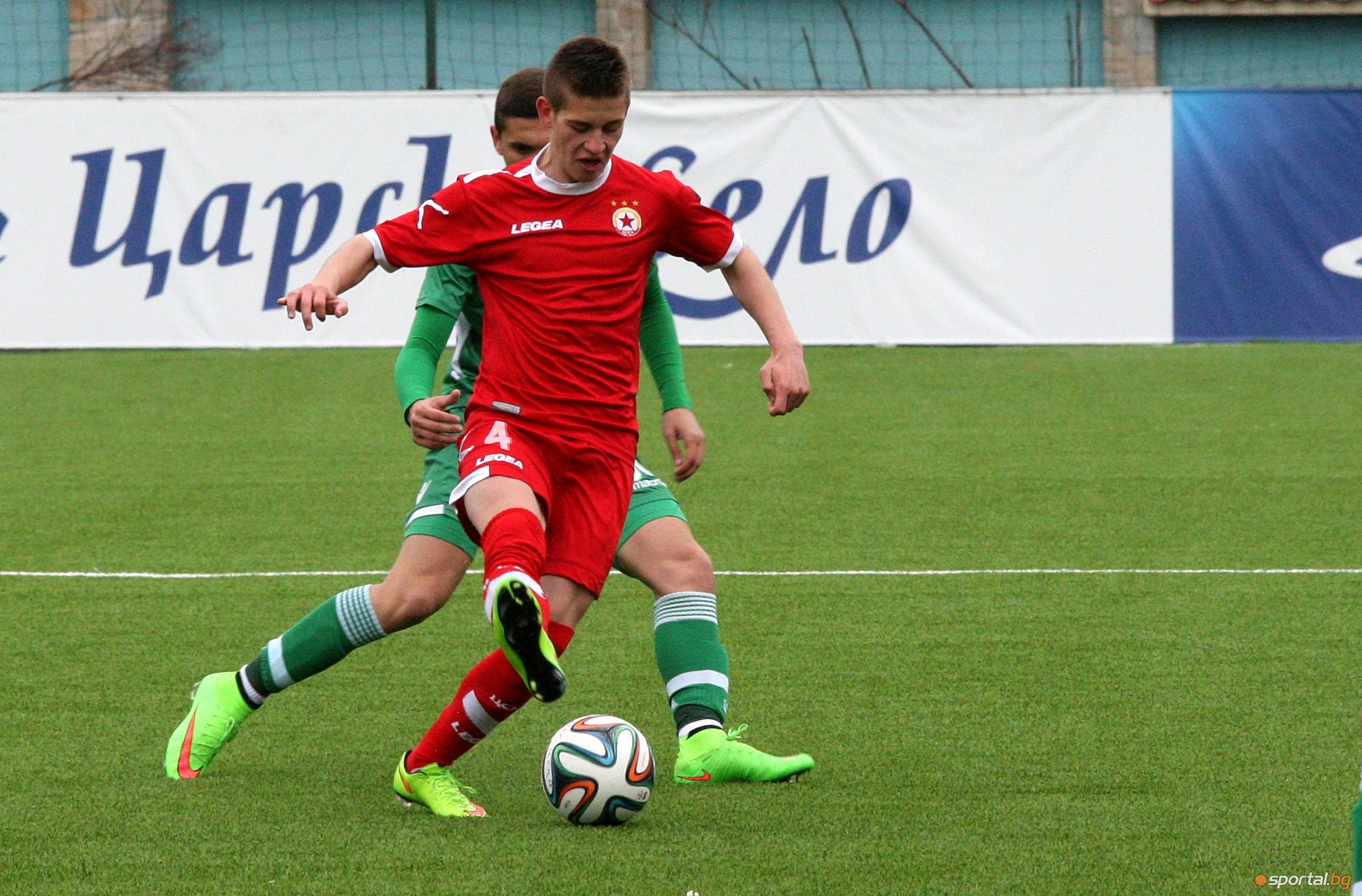 ЦСКА - Лудогорец - елитна юношеска група до 17 години