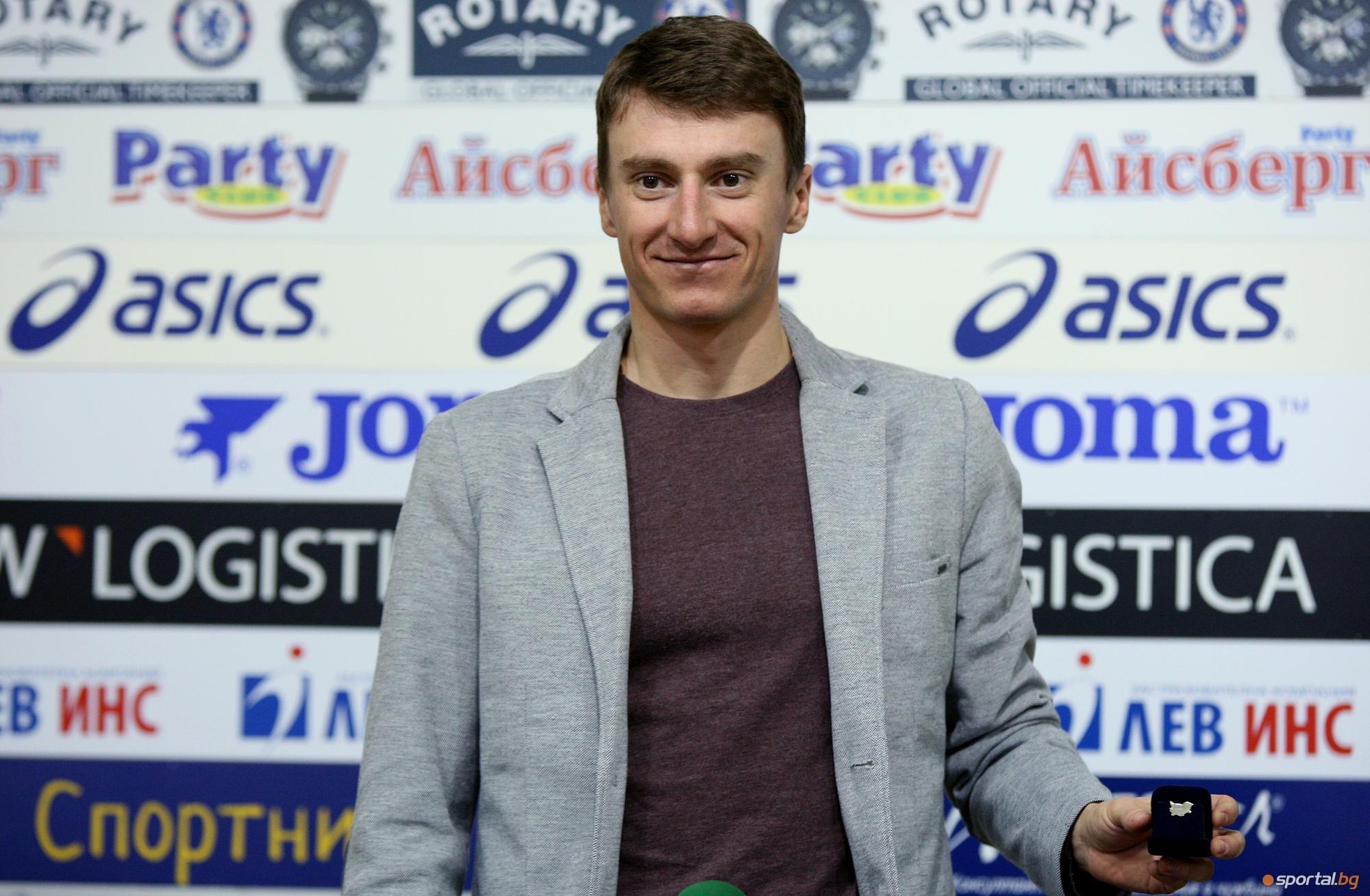 Краси Анев награден за спортист на месец февруари