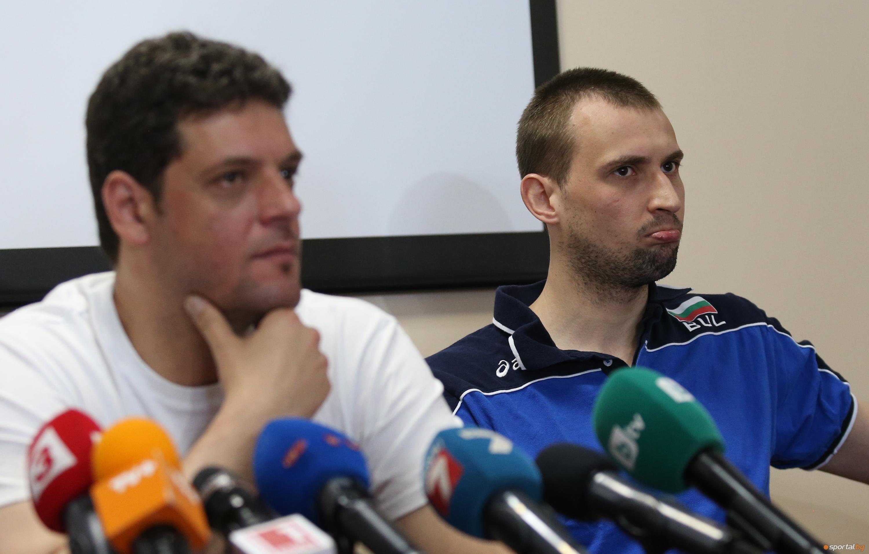 Пресконференция на Пламен Константинов и Виктор Йосифов