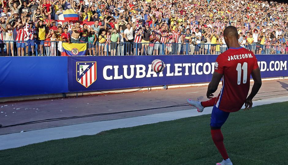 Атлетико Мадрид представи Джаксън Мартинес