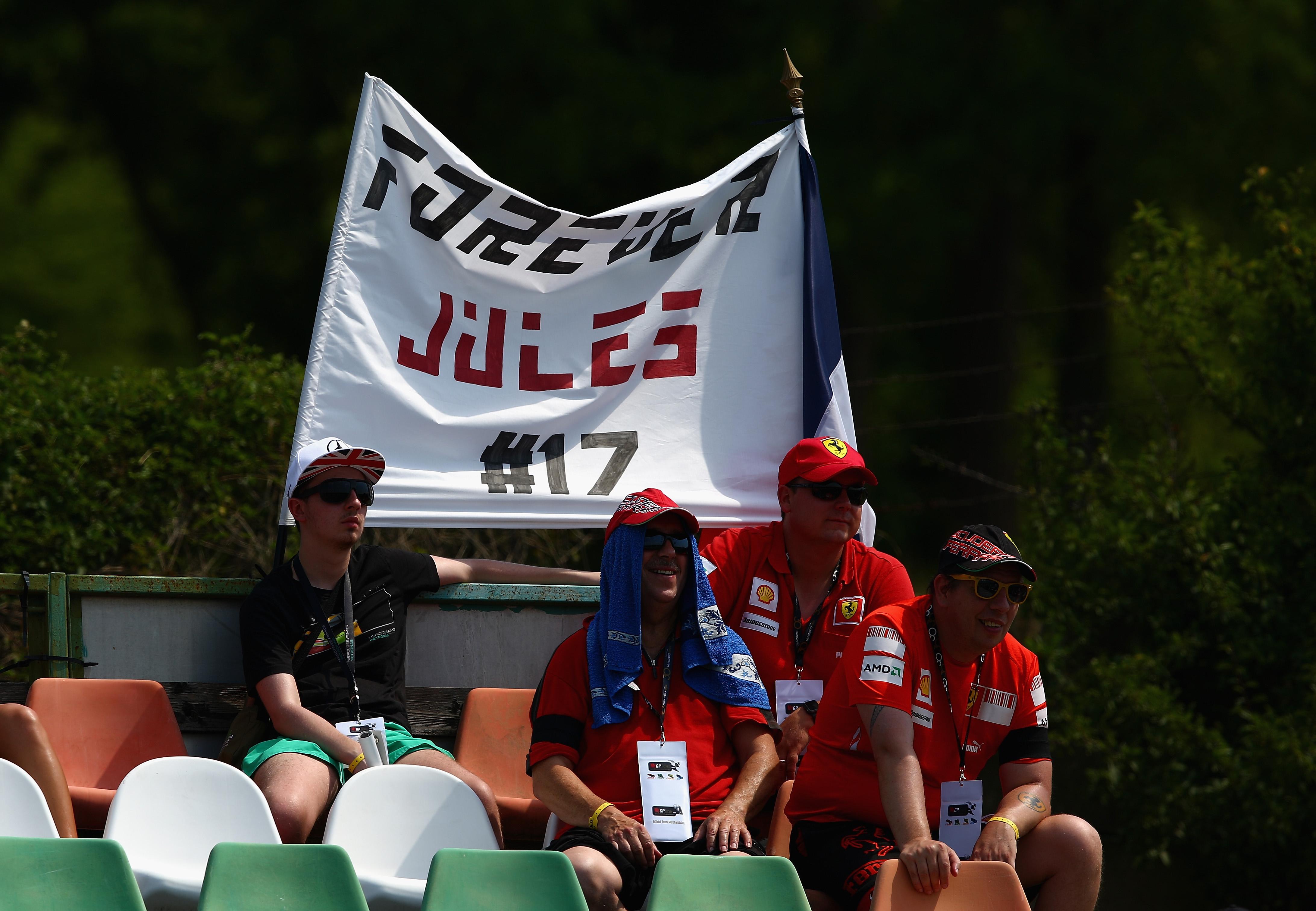 Тренировки за Гран при на Унгария