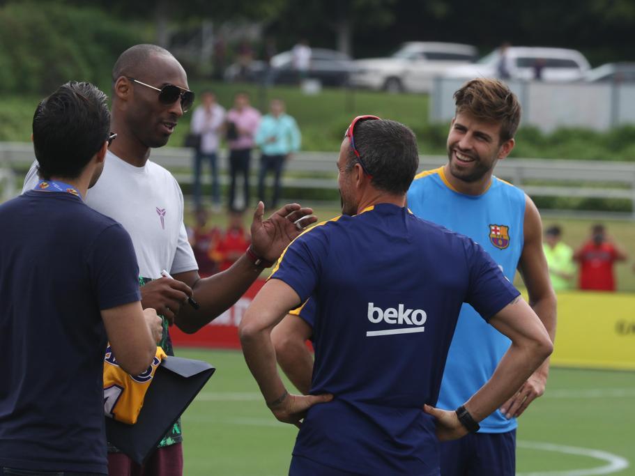 Коби Брайънт посети Барселона в Ел Ей