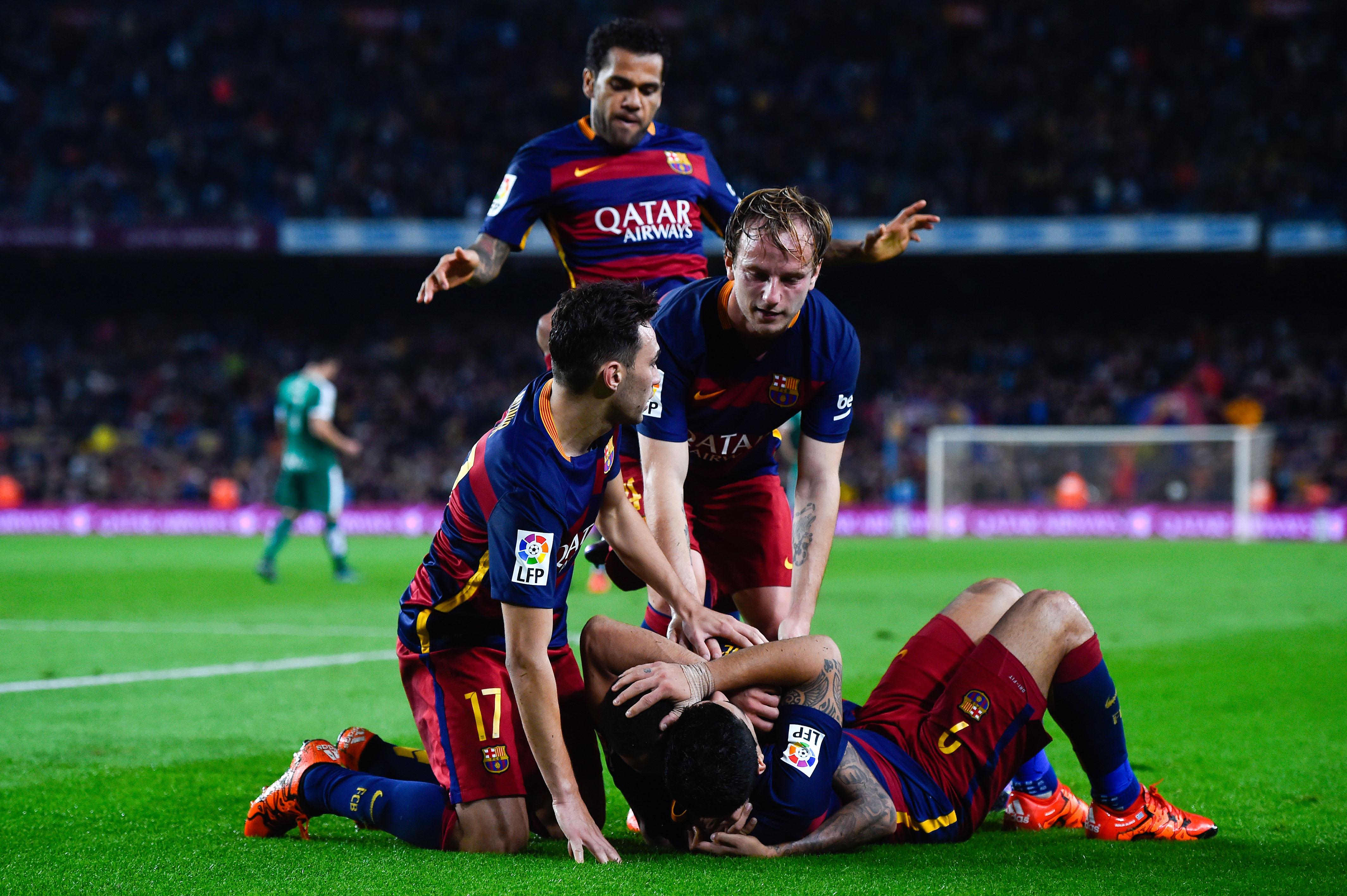 Барселона - Ейбар - 3:1