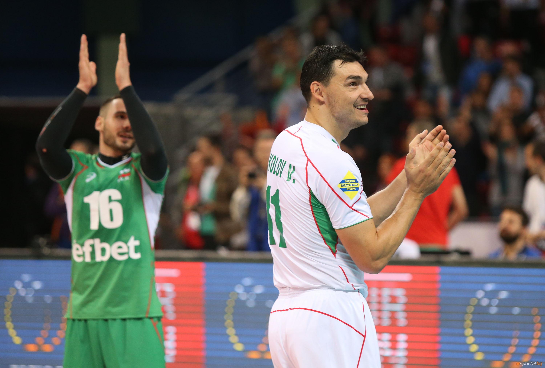 1/4 Финал на Евроволей 2015 - България - Германия I