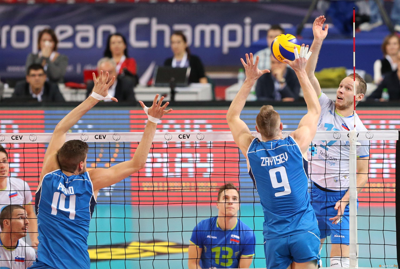 Първи 1/2 за Евро волей 2015 - Италия - Словения