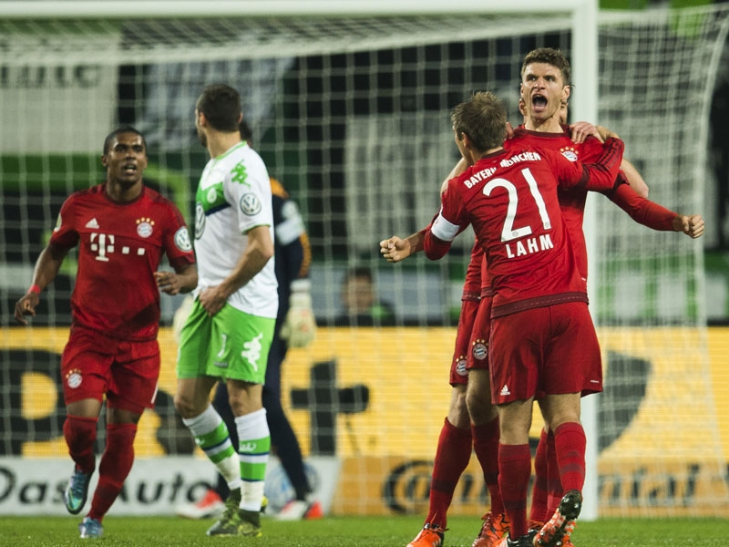Купа на Германия: Волфсбург - Байерн 1:3