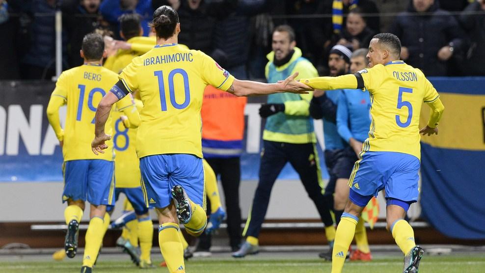 Швеция - Дания 2:1