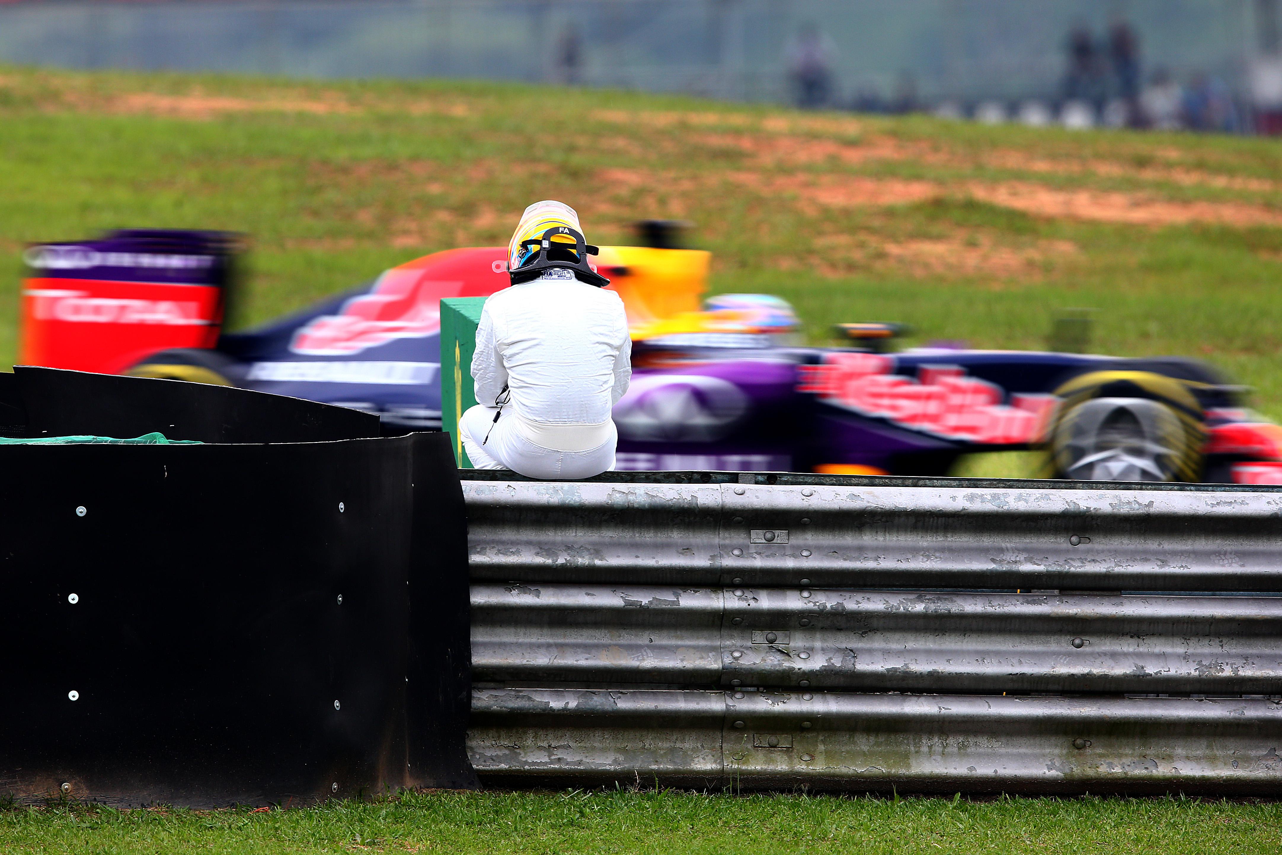 Тренировки за Гран при на Бразилия