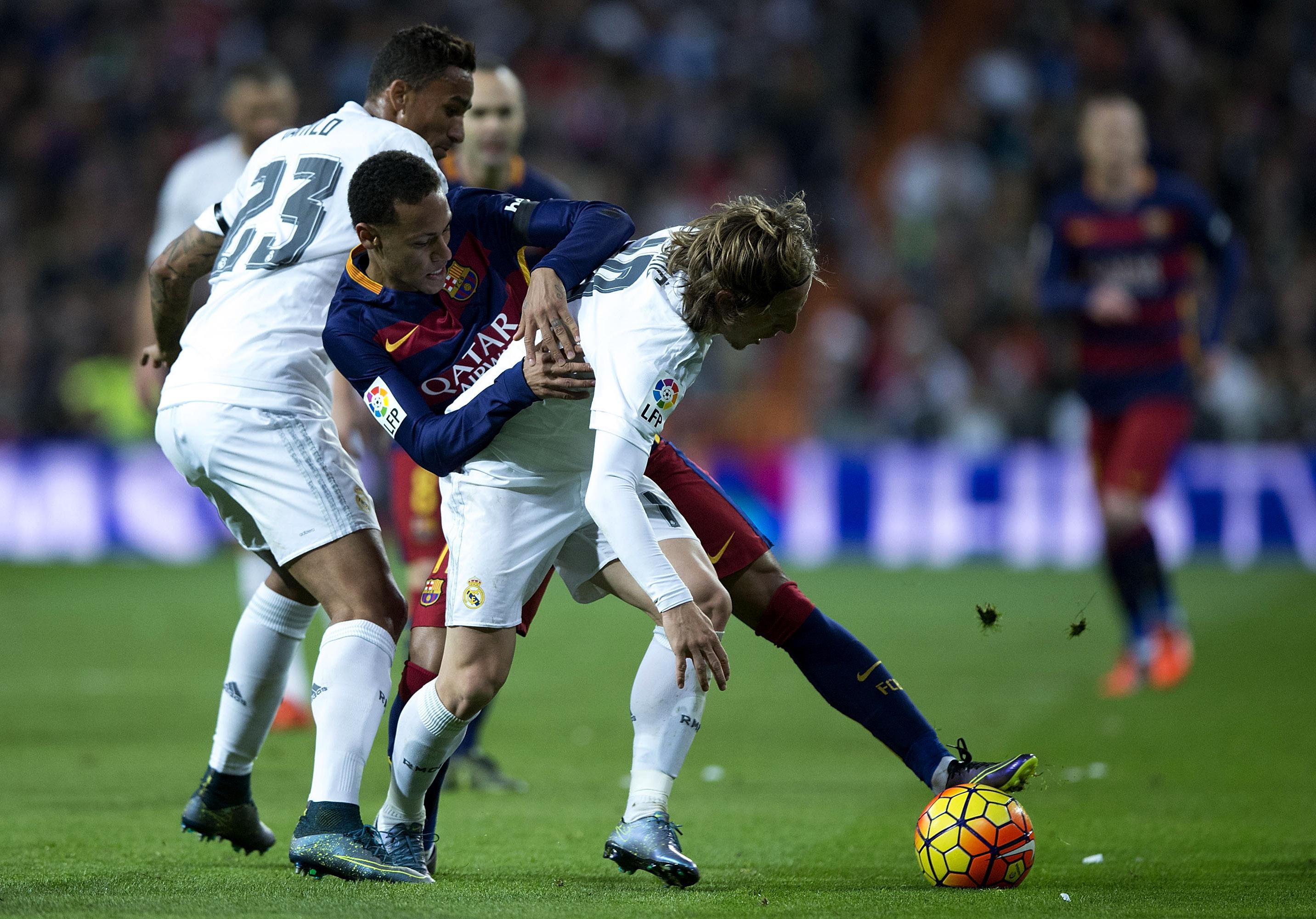 Реал Мадрид - Барселона - 0:4