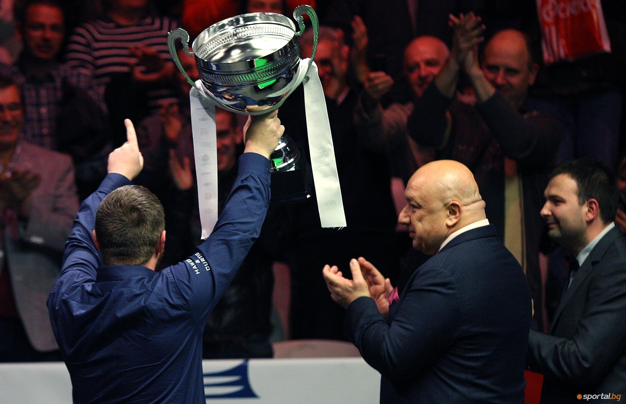 Марк Алън е шампионът във финалния ден на PTC Bulgaria Open 2015