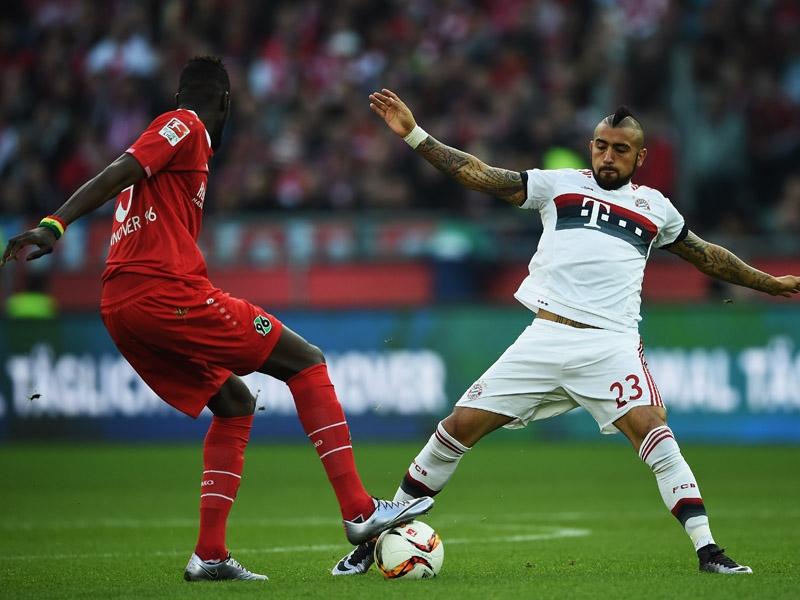 Хановер 96 - Байерн (Мюнхен) 0:1