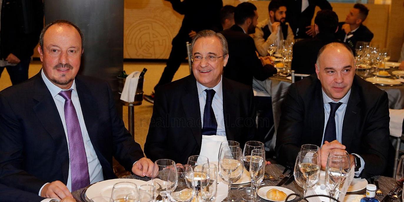 Реал Мадрид на коледно парти