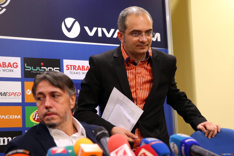 Пресконференция след УС на ПФК Левски