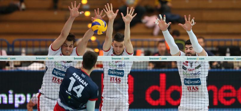 Тренто с 5-а поредна победа в Суперлигата, силно включване на Георги Братоев