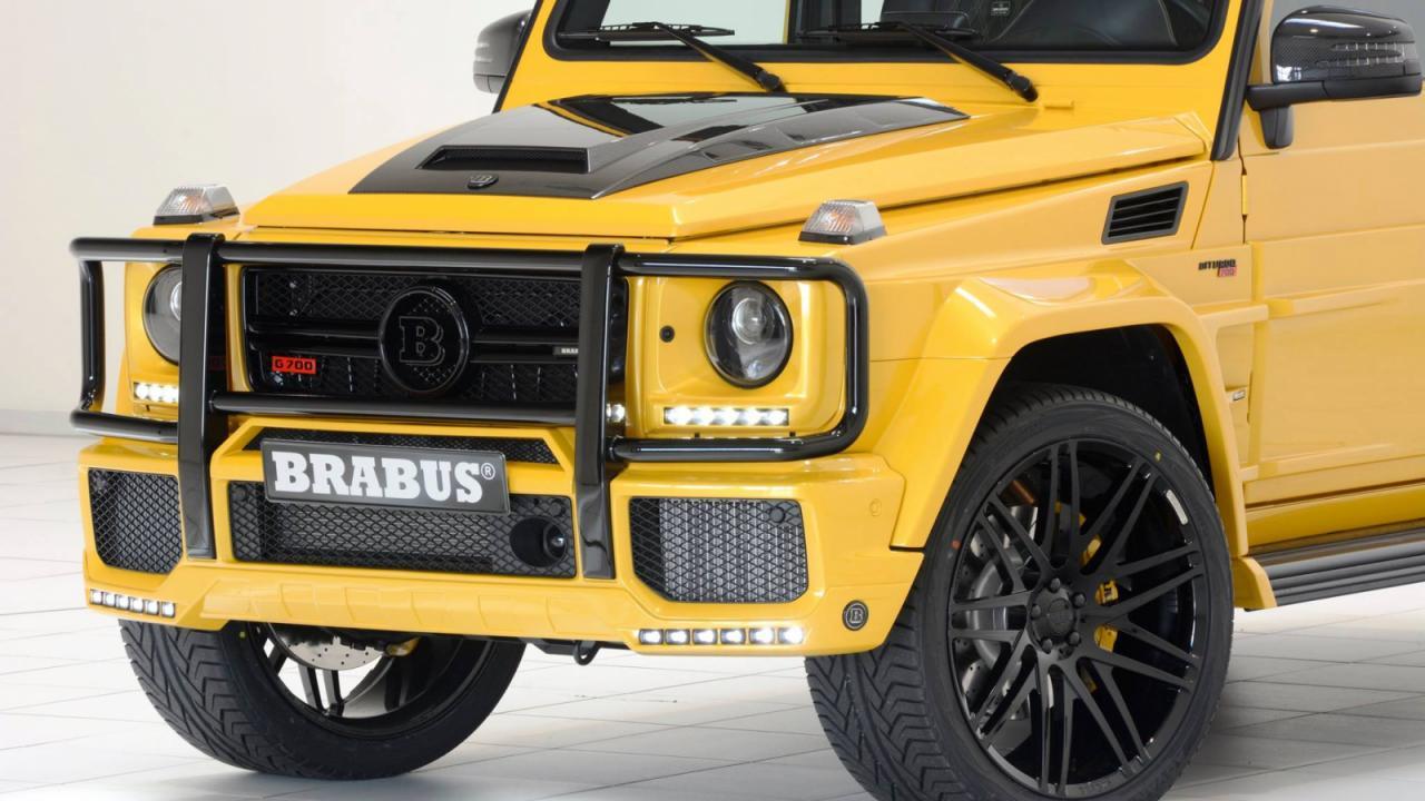 Brabus изкара 700 кс от Mercedes G63 AMG