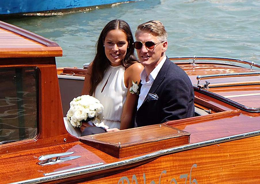 Анна и Швайни с втора сватба във Венеция