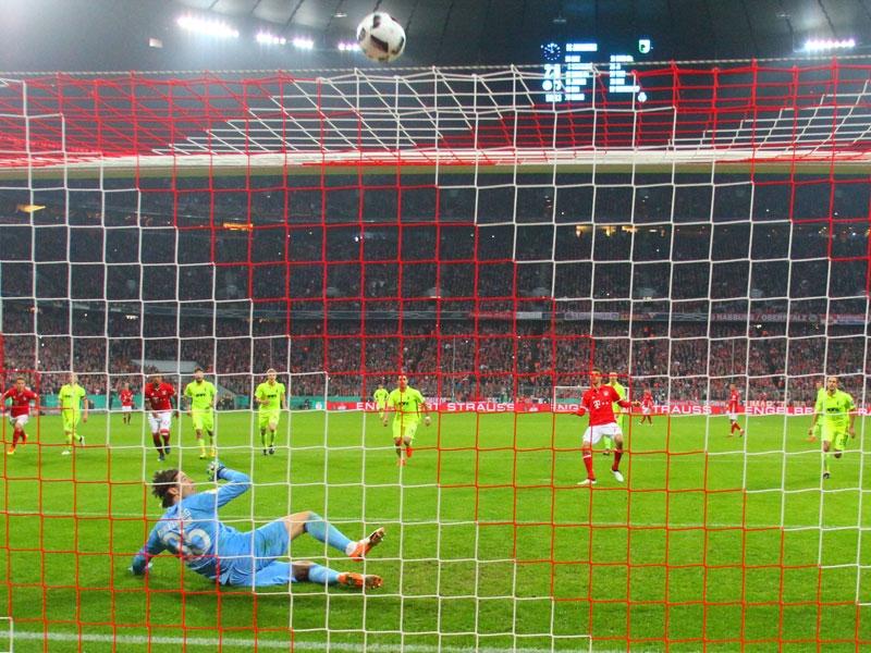 Купа на Германия: Байерн (Мюнхен) - Аугсбург 3:1
