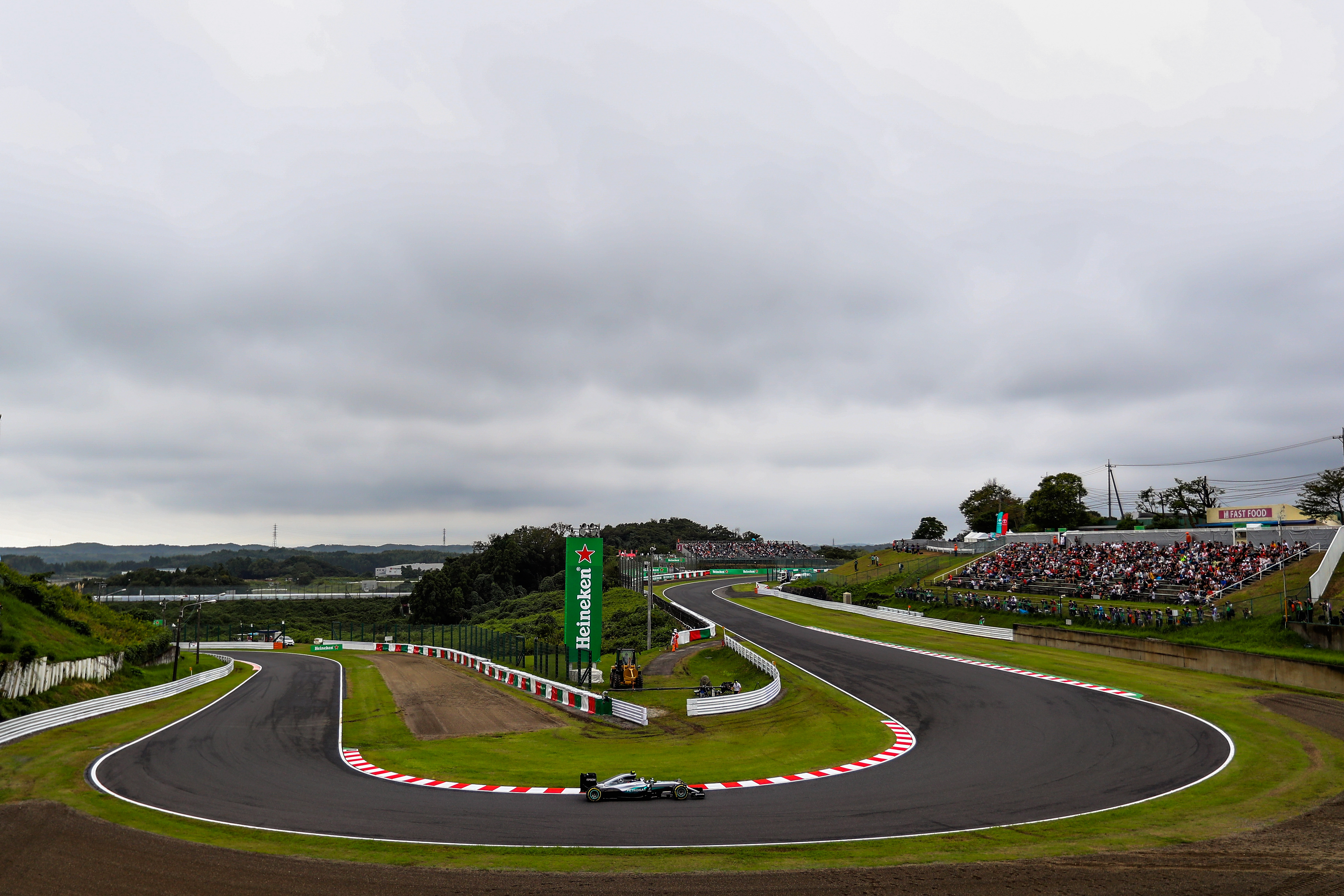 Тренировки за Гран При на Япония