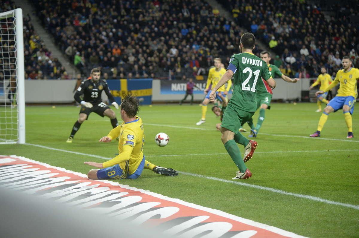 Швеция - България 3:0