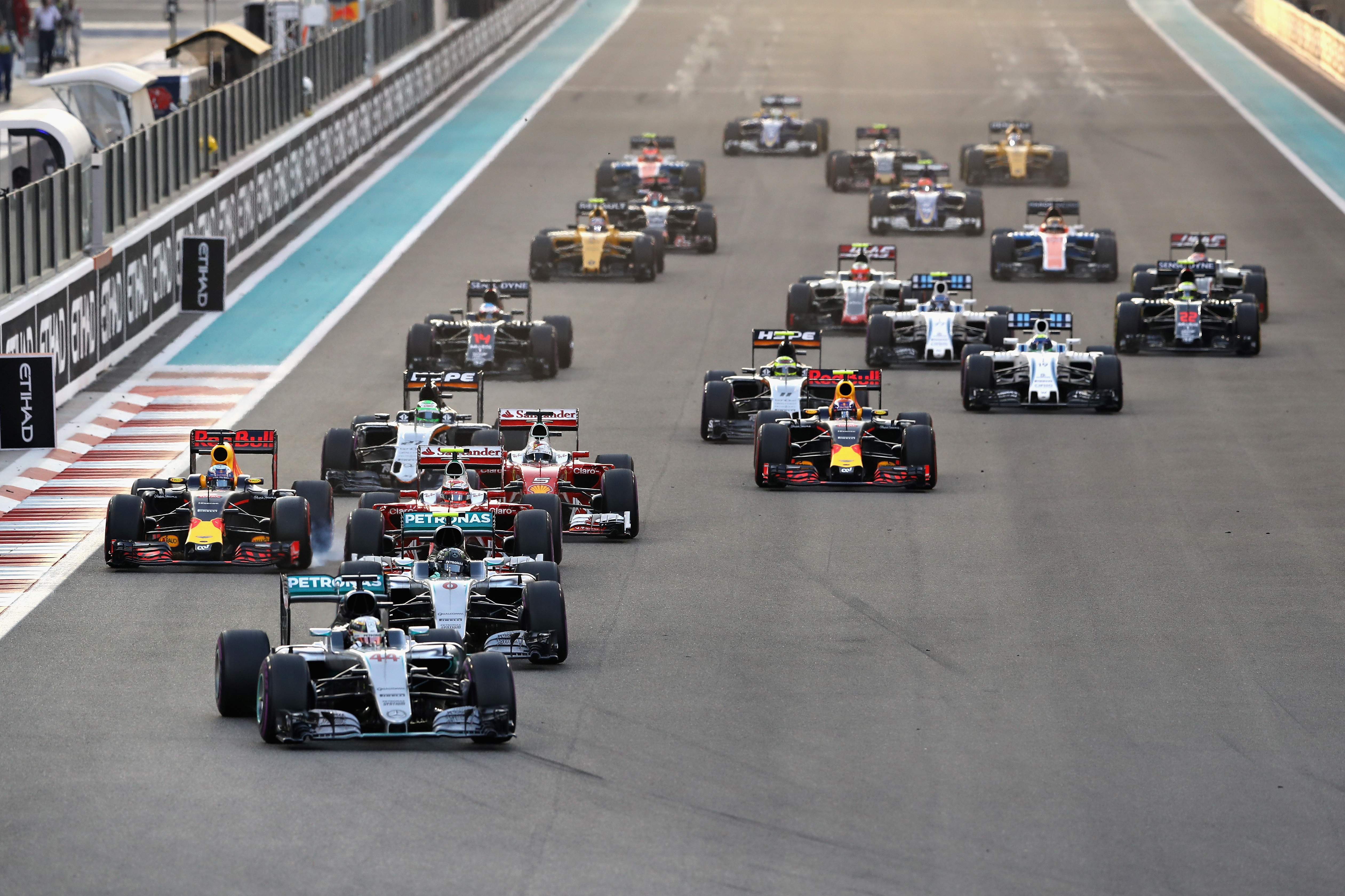 Състезанието за Гран При на Абу Даби