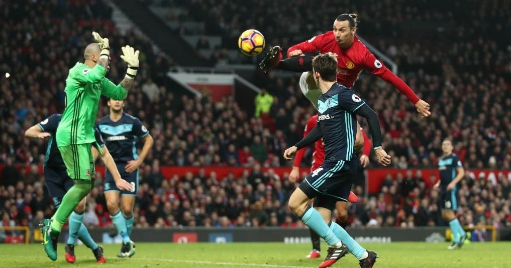 Манчестър Юнайтед - Мидълзбро 2:1