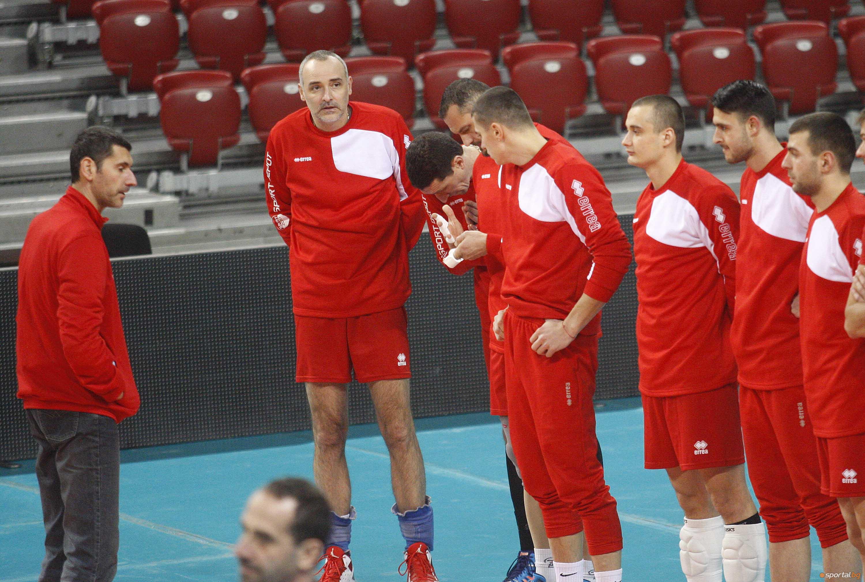 ЦСКА с открита тренировка в Арена Армеец