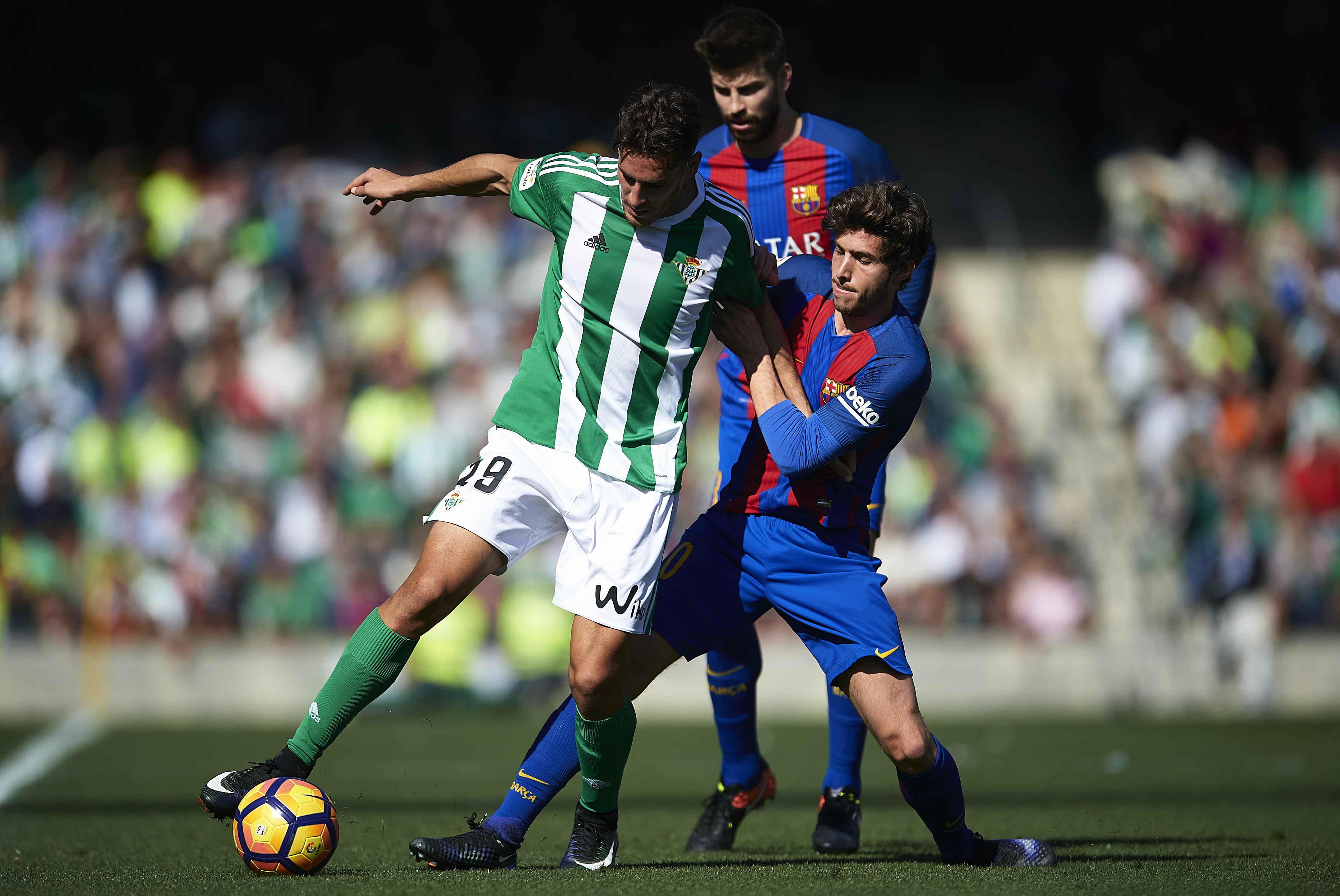 Бетис - Барселона 1:1
